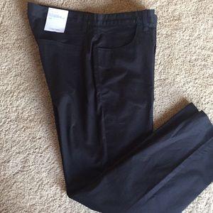 Calvin Klein 5 Pocket SlimFit Black Size 34 X 30